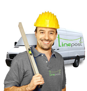 Linepost Installation available